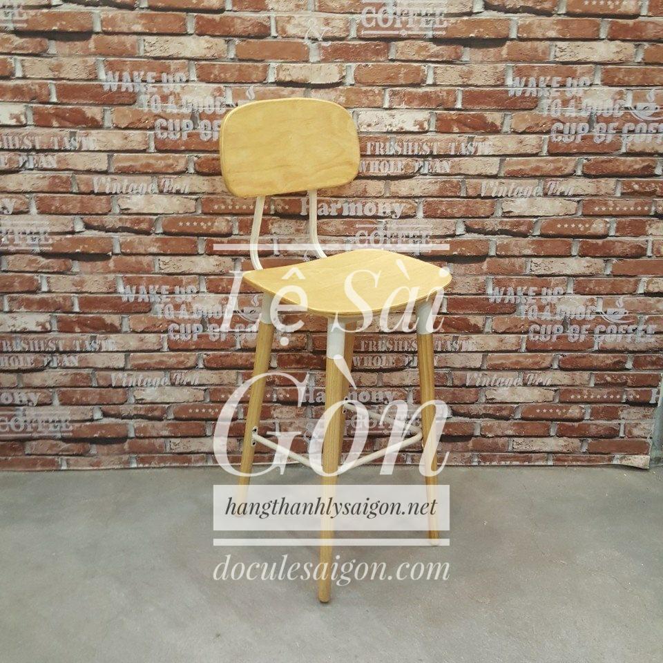 GHẾ CAFE CHÂN CAO MỚI 100% - LSG 003