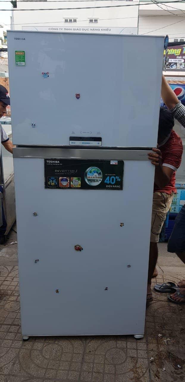 Tủ lạnh Toshiba GR-WG66VDAZ 600L Thanh Lý - HẾT HÀNG