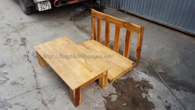 Thanh Lý Bàn ghế gỗ ngồi bệt kiểu Nhật