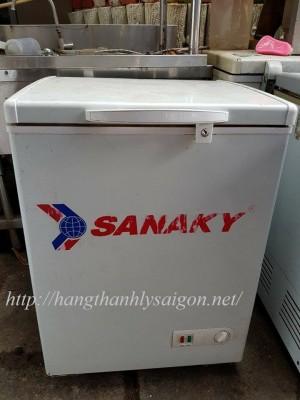 Tủ đông Sanaky 100 lít 1 ngăn new 90% thanh lý
