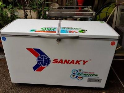 Thanh lý Tủ đông Sanaky inveter Mới 95%