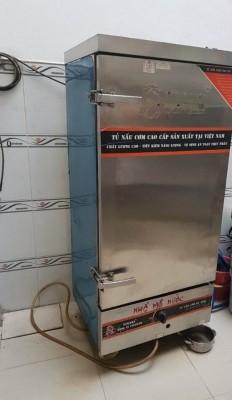 Thanh Lý Tủ Cơm Gas Điện 12 Khay Vinaki  50 Kg