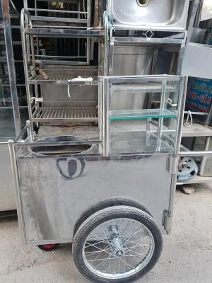 Xe bán hàng lưu động hủ tiếu,cơm tấm,bún bò mới