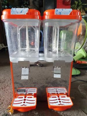 Máy làm lạnh nước trái cây 2 ngăn (mỗi ngăn 18L)còn bảo hành
