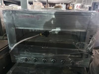 Lò nướng không khói salamander 6 họng dùng gas