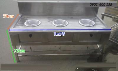 Thanh Lý Bếp 3 lò đốt