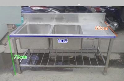 Thanh Lý Bồn Rửa Inox Đôi