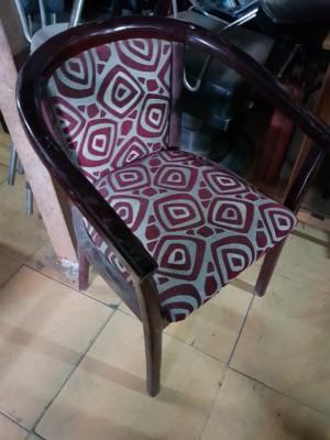 Thanh lý ghế gỗ nệm cafe