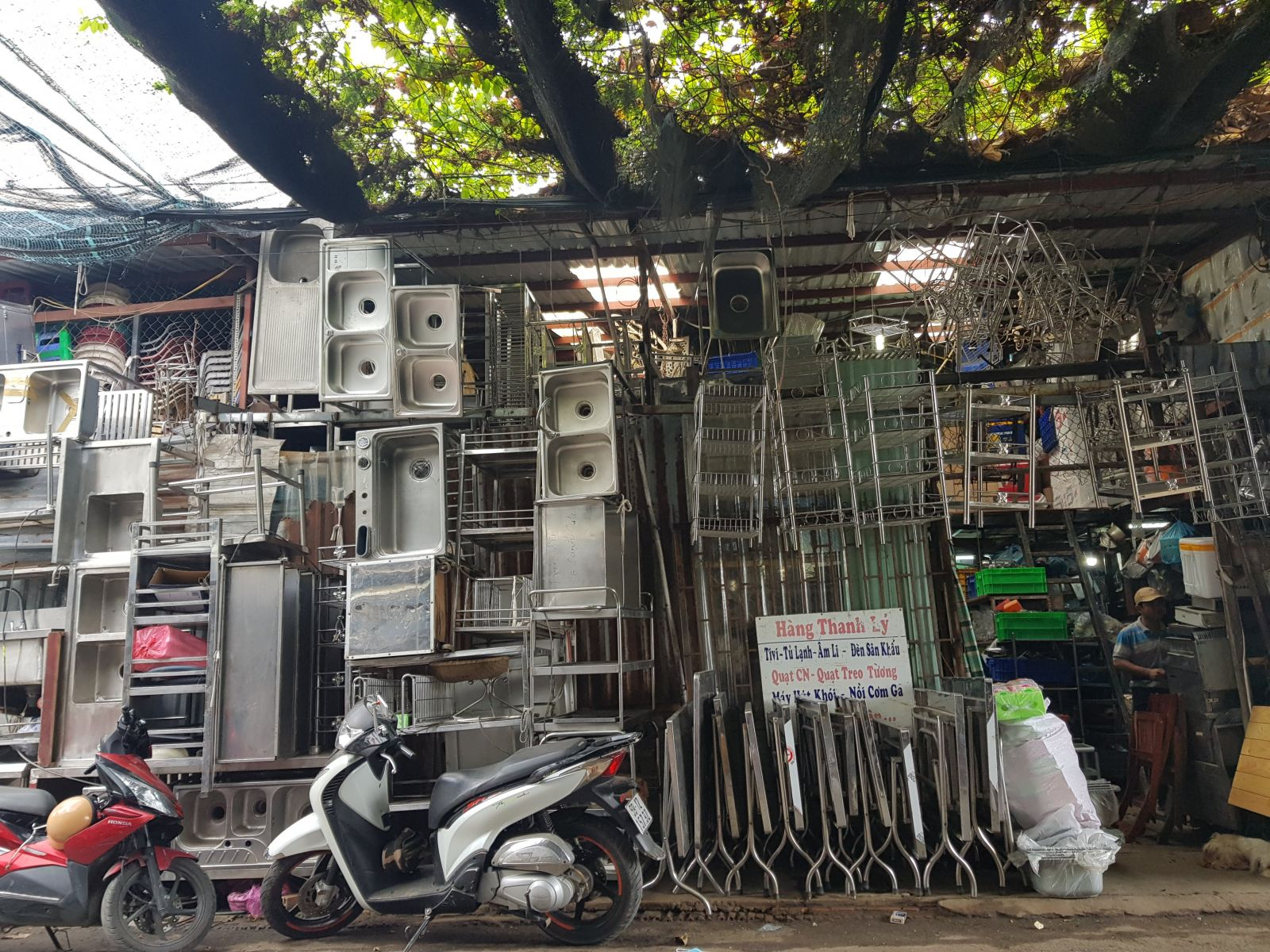 Chợ mua bán đồ cũ tại Hà Nội uy tsin